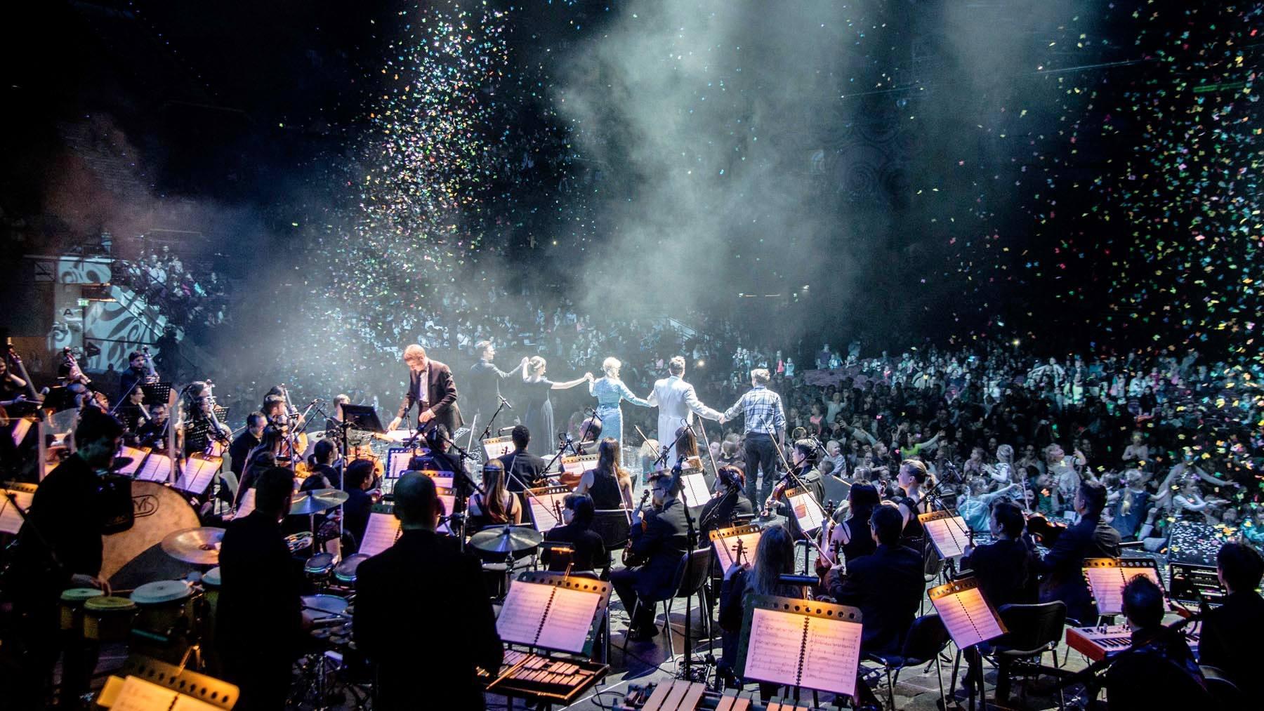 Wiener Stadthalle mit Max Steiner Orchestra
